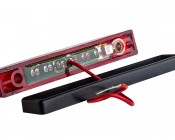 M3 series LED Marker Lamp: Grounded Mounting Hole With Included Rubber Grommet