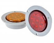 M5 series 2in Round LED Marker Lamp with Flange