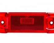 M8 series LED Marker Lamp: Front View