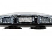 Magnetic Emergency LED Light Bar with Toggle Switch - 360 Degree Strobing LED Mini Lightbar: Side View