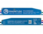 Magnitude Dimmable LED Power Supply - Super Compact - 24 Volt: Profile View