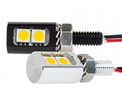 Miniature LED License Plate Bolt: Sold As Single Units. Most Applications Will Require 2 Units.