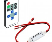 MCBRF-4A Single Color LED Mini Dimmer with Dynamic Modes - RF Remote