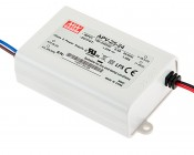 Mean Well LED Power Supply - AP series 25W Single Output LED Power Supply - 24V DC