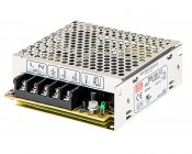 RS-x-12 - Mean Well LED Power Supply - RS series 50W Enclosed Power Supply - 12V DC