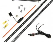 Motorcycle Engine LED Lighting Kit - Single Color: All Included Parts For Toggle Switch Kit