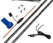 Footwell & Interior Vehicle LED Lighting Kit - Weatherproof Single Color Strip Kit