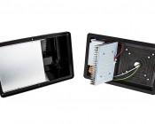 Mini LED Wall Pack - 28W (100W MH Equivalent)- 5100K/4000K - 2,100 Lumen: Inside View