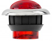 "Mini Round LED Truck Trailer Light - 1"" PC Rated LED Marker Clearance Light with 1 LED: Profile View"