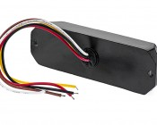 18 Watt Vehicle Mini Strobe Two-Color Light Head: Back View
