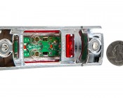 MMK series Mini Marker Light Kit: Back View With Size Comparison
