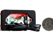 MMKPC series Mini Marker Light Kit: Back View With Size Comparison