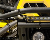 Universal Mounting Bracket for Off Road LED Light Bar: (Lights Sold Separately).