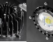 Modular LED High Bay Light - 120W: Close Up View Of Individual Modular