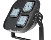 Modular LED High Bay Light - 150W: Shown With Optional U-Bracket Kit Accessory  (sold separately)