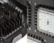 Modular LED High Bay Light - 150W: Close Up View Of Cree LED Light Module