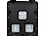 Modular LED Shoebox Area Light - 150W: Front View