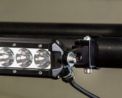 Universal Mounting Bracket for Off Road LED Light Bar: Mount Clamp Directly To Side Inserts Of Off Road LED Light Bar