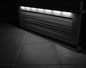Single Color LED Module - High Power Linear Sign Module w/ 3 SMD LEDs: Shown Installed As Accent Lights In Cool White.