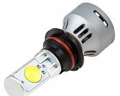 Motorcycle LED Headlight Conversion Kit - 9007 LED Headlight Bulb Conversion Kit with Built In Fan