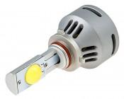 Motorcycle LED Headlight Conversion Kit - 9005 LED Headlight Bulbs Conversion Kit with Built In Fan