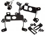"3-1/2"" LED Projector Fog Lights Conversion Kit w/ Halo Daytime Running Lights - Chrysler/Jeep/Dodge: Components"
