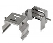 Mounting Brackets for Linkable Linear LED Light Fixtures