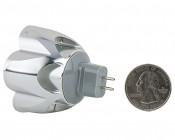 MR16 LED Bulb - 25 Watt Equivalent - Bi-Pin LED Spotlight Bulb: Back View