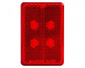MR180PC series Marker Lamp: Front View