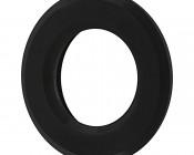 MRLF-1xW-RTB - LED Step Lights - Black 40mm Plactic Trimmed Mini Round Deck / Step Accent Light - 1 Watt