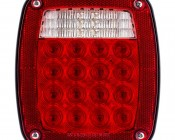Multi-Function LED Box Tail Lamp: Front View Of LED Tail Lamp