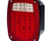 Multi-Function LED Box Tail Lamp w/ License Light