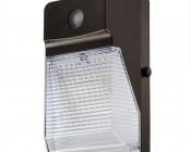 Photocontrol Mini LED Wall Pack - 20W (175W MH Equivalent) - 2,300 Lumens