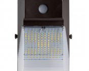Mini LED Wall Pack - 20W (175W MH Equivalent) - 5000K/4000K - 2,300 Lumens - Front View
