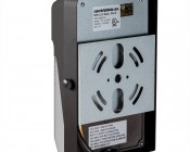 Mini LED Wall Pack - 20W (175W MH Equivalent) - 5000K/4000K - 2,300 Lumens - Back View