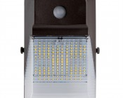 Photocontrol Mini LED Wall Pack - 20W (175W MH Equivalent) - 5000K - 2,300 Lumens - Front View
