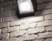 Small Square LED Wall Pack - 48W (250W MH Equivalent) - 4000K - 5,100 Lumens
