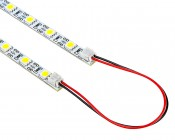 Narrow Rigid Light Bar w/ High Power 3-Chip LEDs: Link Multiple Bars Together Using Interconnector Accessory