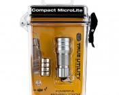 TU283S NEBO Compact MicroLite LED Keychain Flashlight: Shown In Box