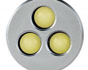TU283S NEBO Compact MicroLite LED Keychain Flashlight: Front View
