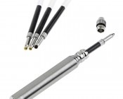 TU246 NEBO TelePen Key-Ring Telescopic Pen: Includes Replacement Tips