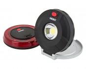 NEBO TWIN PUCKS LED Task Light and LED Safety Flare Combo