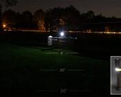 NEBO TWYST Z - LED Flashlight w/ Built-In COB Work Light and Lantern: Work Light Turned On