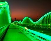 Flexible LED Neon Rope Lights - Neon Strip Lights - 161 Lumens/Ft.: Illuminating Bridge