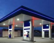 Flexible LED Neon Rope Lights - Neon Strip Lights - 161 Lumens/Ft.: Illuminating Gas Station