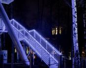 Flexible LED Neon Rope Lights - Neon Strip Lights - 161 Lumens/Ft.: Illuminating Stairs
