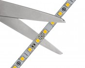 LED Strip Lights - 24V LED Tape Light with LC2 Connector - 455 Lumens/ft.: Strip May Be Cut at Indicated Scissor Markings