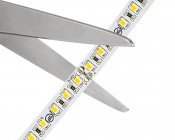 LED Light Strip - High CRI - High Density LED Tape Light with 36 SMDs/ft. - 1 Chip SMD LED 2835 with LC2 Connector: Strips May Be Cut at Scissor Markings