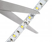 High CRI LED Light Strip - LED Tape Light with 18 SMDs/ft., 1 Chip SMD LED 2835 with LC2 Connector: Strips May Be Cut at Scissor Markings