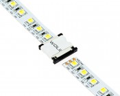 Black Pieces Slide Out to Accept LED Light Strip and Push in to Lock LED Light Strip